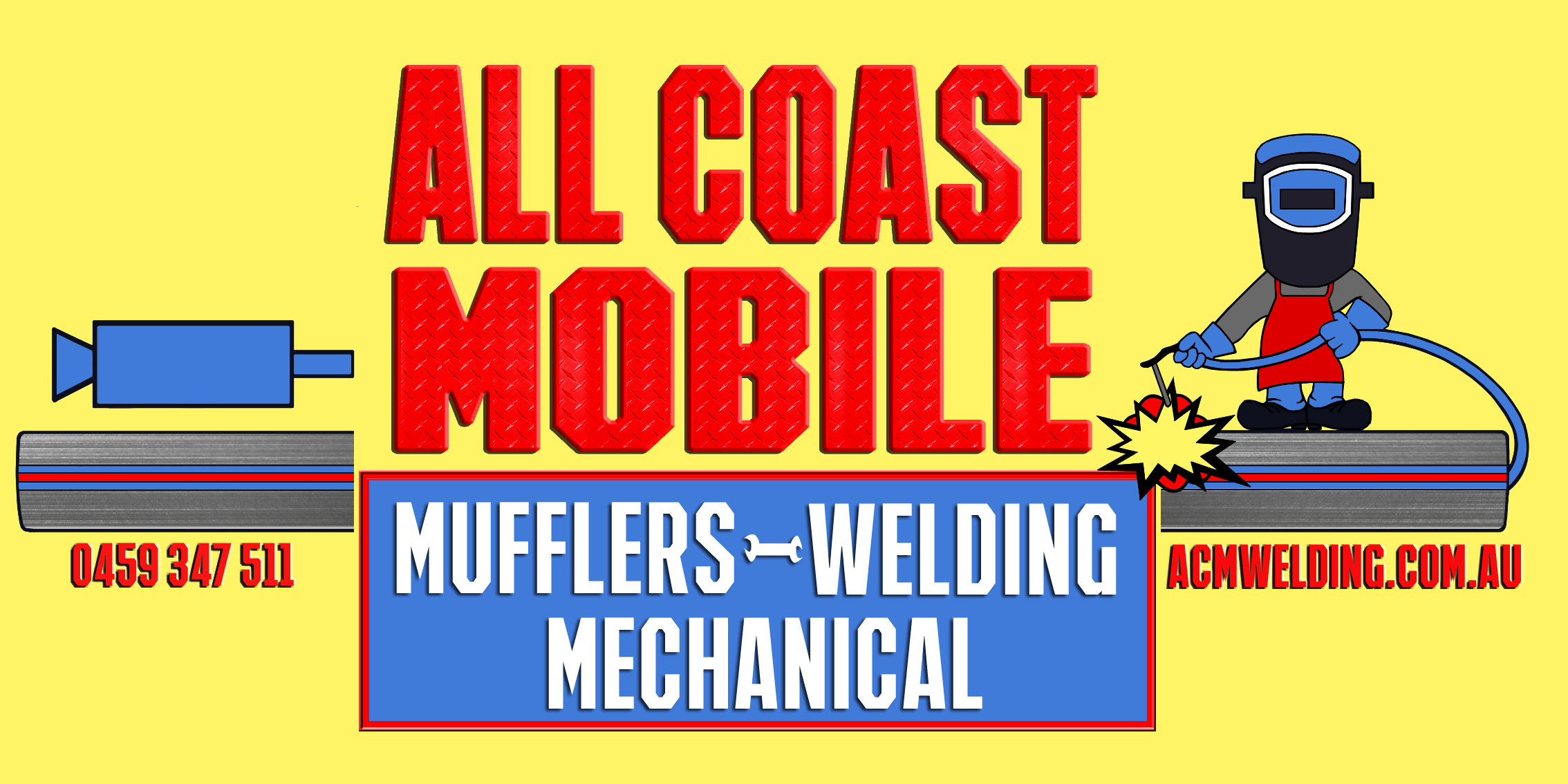 Logo design - All Coast Mobile Welding