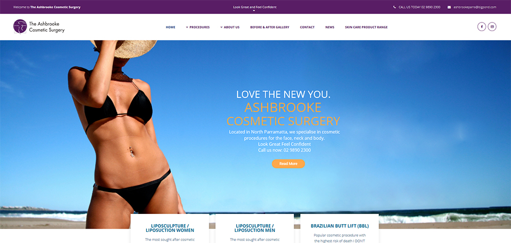 Ashbrooke Cosmetic Surgery Parramatta